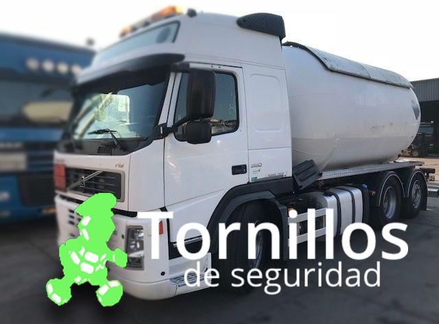 Tornillos de seguridad para camiones